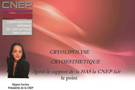 Cryolipolyse: la CNEP fait le point