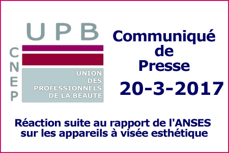 La CNEP se Réjouit du Rapport De l'ANSES sur les Appareils à Visée Esthétique