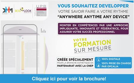 Application Mobile Learning – UPB – DMM – BODYLOOK: Votre Formation sur Mesure