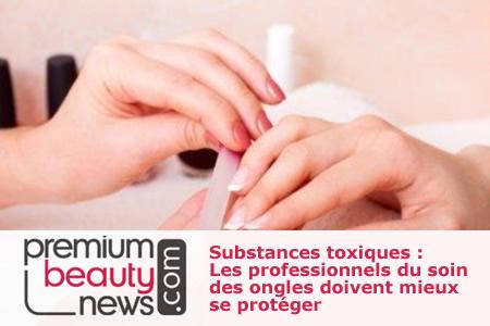Les professionnels du soin des ongles doivent mieux se protéger