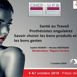 Conférence BeautyForum 2019: Santé au Travail – Prothésistes Ongulaires
