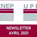 Newsletter – Avril 2021